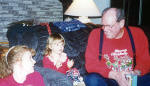 LeRoy with grandkids