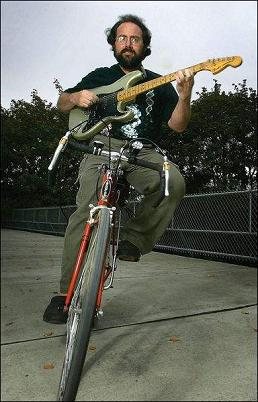 """The Bicycling Guitarist"" Chris Watson"