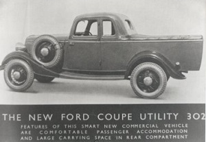 The brochure for the first Utility