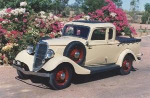 1934 ute restored