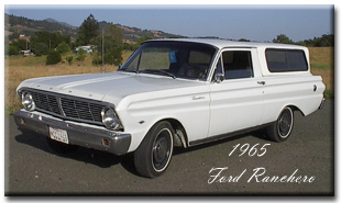 1965 Ford Falcon Ranchero, 289 V8