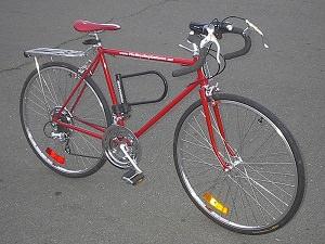 My Schwinn as it appeared in Fall 2009