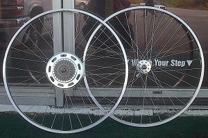 newly-built wheels October 6, 2009