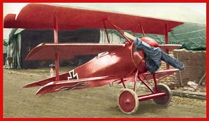 The Red Baron's Fokker triplane
